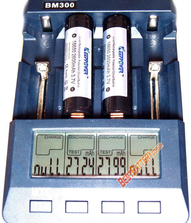 KeepPower 18650 2600 mAh тест