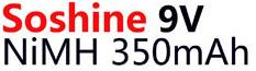 Аккумулятор Крона Soshine 9V 350 mAh Ni-Mh
