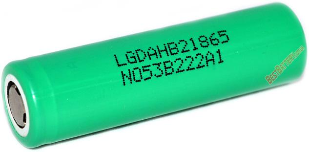 LG HB2 18650 1500 mAh 30A - высокотоковый Li-ion промышленный аккумулятор формата 18650.