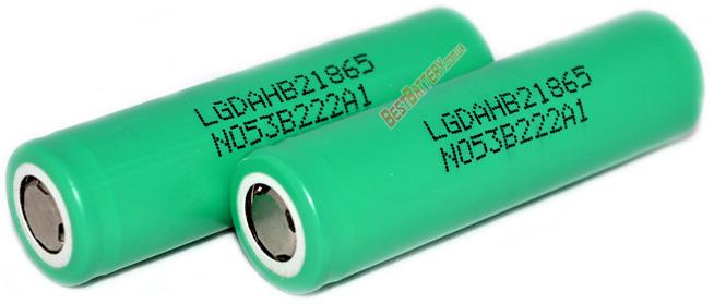 LG HB2 18650 1500 mAh 30A - промышленный корейский высокотоковый Li-ion аккумулятор форм-фактора 18650