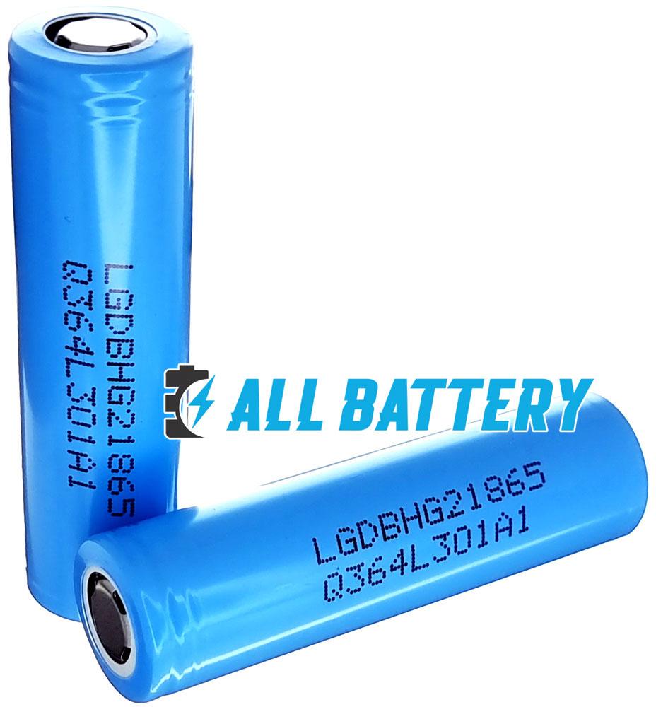 Аккумулятор 18650 LG HG2L 18650 3000 mAh Li-ion INR, 3.7В, 20А (30А), высокотоковый. Аналог LG HG2. Оригинал - Korea.