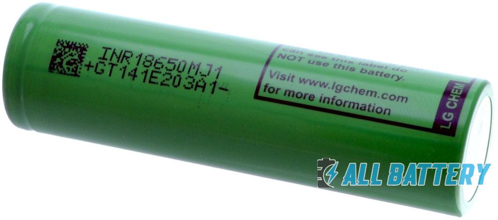 G MJ1 3500 mAh Li-Ion (LGDBMJ11865) - высокотоковый Li-ion аккумулятор формата 18650