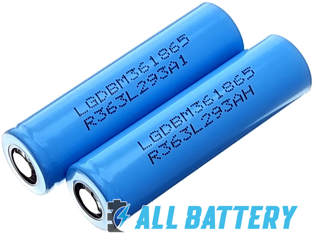 Li-Ion аккумуляторы 18650 LG HG2L 3000 mAh 20А (30А) Без защиты.