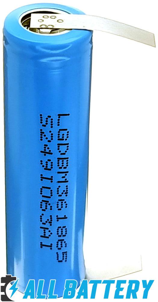 Аккумуляторов 18650 LG M36 3600 mAh (3450 mAh) 10A под пайку.