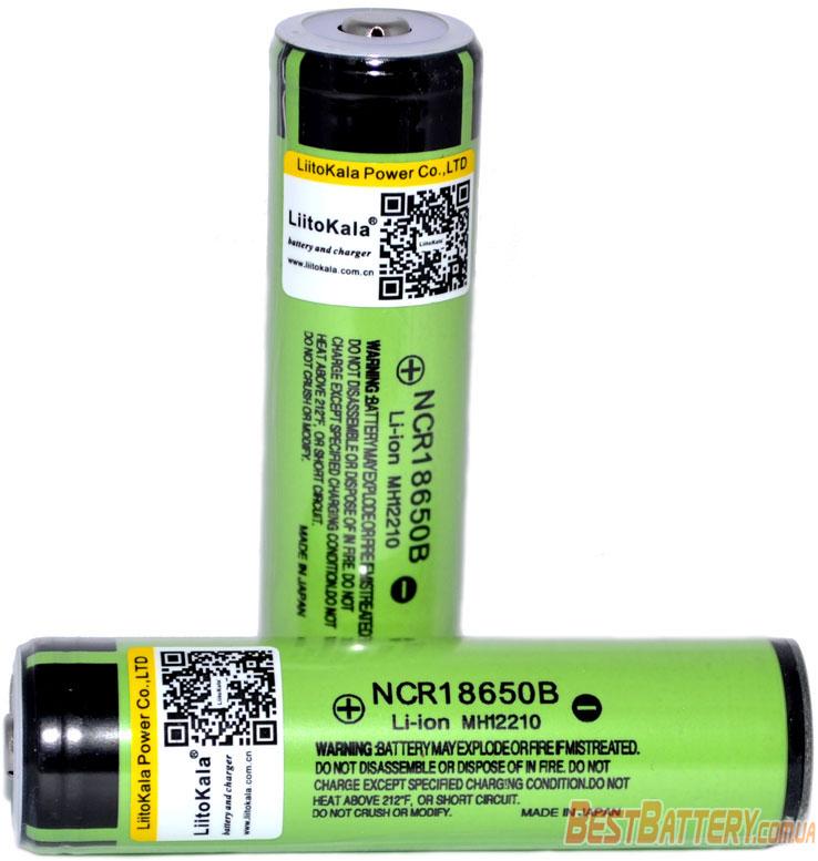 Liitokala 34B PCB 3400 mAh Li-Ion 18650 с защитой.