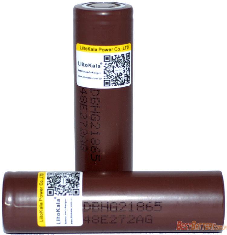 Li-Ion аккумулятор 18650 Liitokala Lii-HG2 3000 mAh 3.7V Без защиты (промышленный).