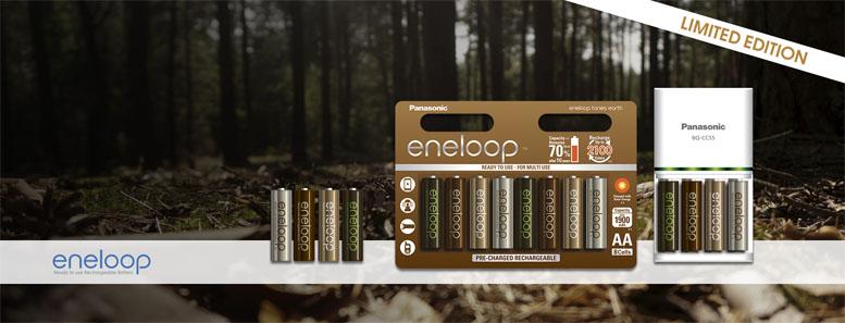 Аккумуляторы Panasonic Eneloop Earth AAA.
