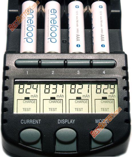 Результаты тестирования аккумуляторов Panasonic Eneloop 800 mAh BK-4MCCE