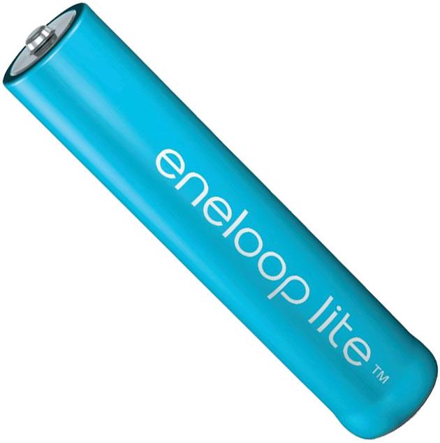 ААА аккумуляторы Panasonic Eneloop Lite 600 mAh (min. 550 mAh) BK-4LCCE в боксе.