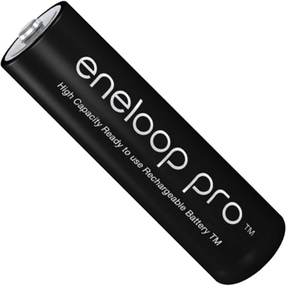 Пальчиковые аккумуляторы Panasonic Eneloop Pro 2600 mAh (min 2500 mAh) BK-3HCDE поштучно.