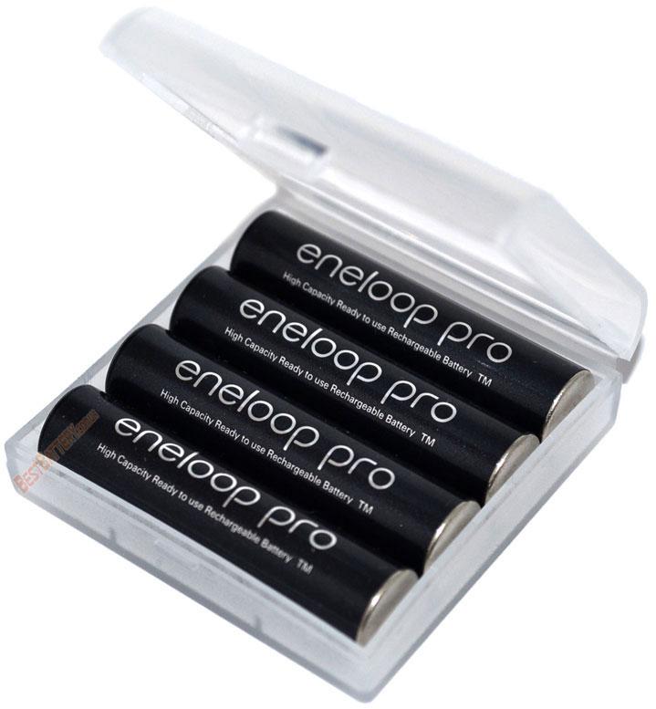 Минипальчиковые аккумуляторы Panasonic Eneloop Pro 950 mAh (BK-4HCCE) в боксе