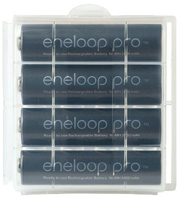 Аккумуляторы Panasonic Eneloop Pro 2600 mAh (BK-3HCDE):