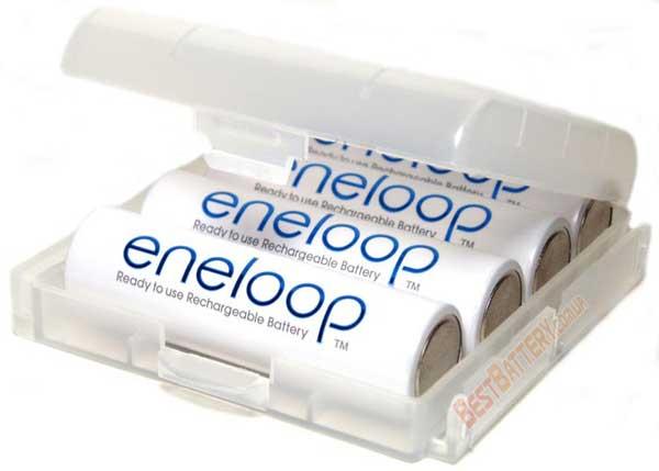 Аккумуляторы Panasonic Eneloop 2000 mAh BK-3HCCE