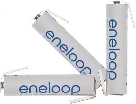 Panasonic Eneloop 800 mAh (min 750 mAh) BK-4MCCE c лепестками (ААА)