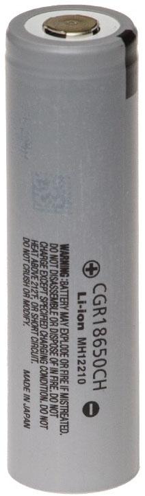 Panasonic CGR18650CH 3,7V 2250 mAh Li-ion высокотоковый IMR аккумулятор без защиты
