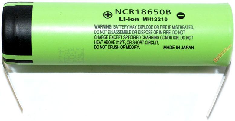 Panasonic NCR18650В 3400 mah с лепестками под пайку