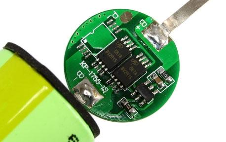 Плата защиты для Li-Ion аккумуляторов формата 18650 (Li-Ion 18650 Protected).