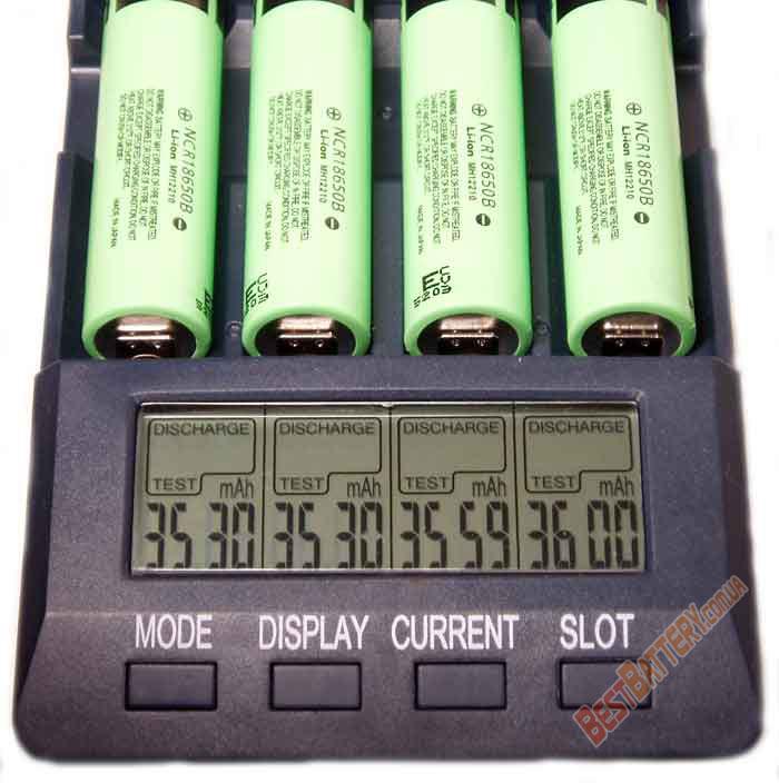 Результаты тестирования аккумуляторов Panasonic NCR18650B 3400 mAh
