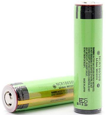 Panasonic NCR18650B 3400 mAh с защитой (Protected) - высокоёмкий Li-ion аккумулятор.