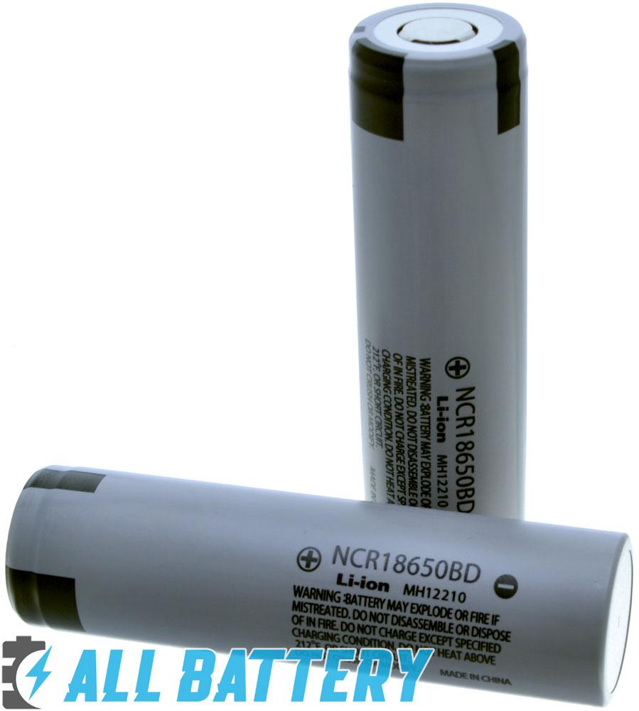 Panasonic NCR18650BD 3200 mAh Li-ion аккумулятор 18650 без защиты, токоотдача 10А.
