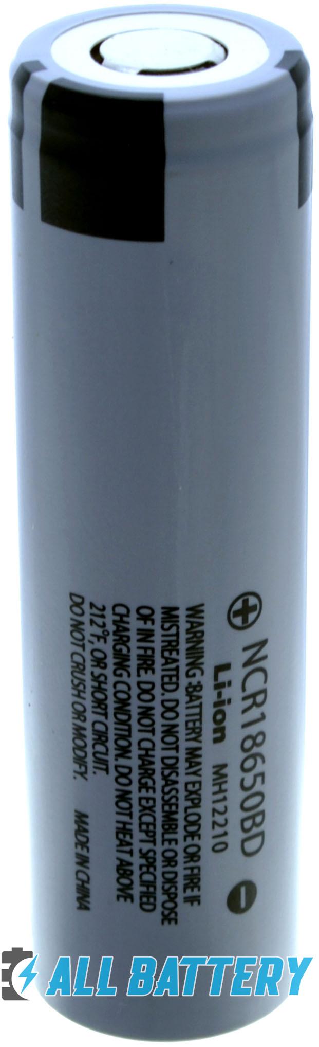 Аккумуляторы Panasonic NCR18650BD 3200 mAh 10A.