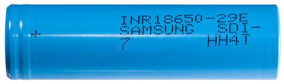 Технические характеристики Samsung INR 18650 29E 2900mAh E7