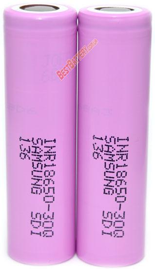 Аккумуляторы Samsung INR18650 30Q 15A (30А)