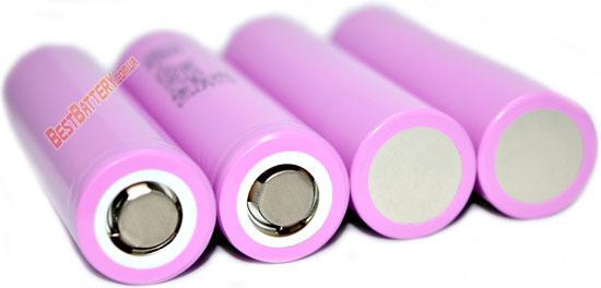 Технические характеристики аккумуляторов Samsung INR18650 30Q 15A (30A) 3000mAh: