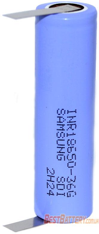 Технические характеристики Samsung INR 18650 36G с лепестками 3600 mAh.