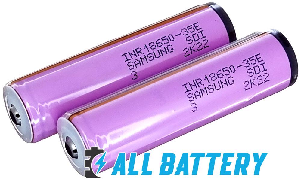Li-Ion аккумуляторы 18650 Samsung 35E с защитой высокого качества.