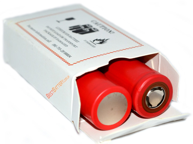 Технические характеристики аккумуляторов Sanyo NCR18650BF 3400mAh: