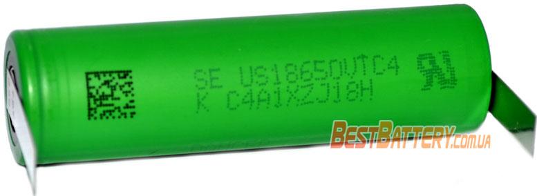 Техническая характеристика Sony / Murata US18650 VTC4 с лепестками.