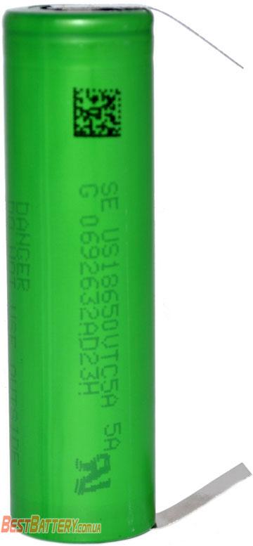 Особенности Sony / Murata VTC5A 2600 mAh с лепестками.