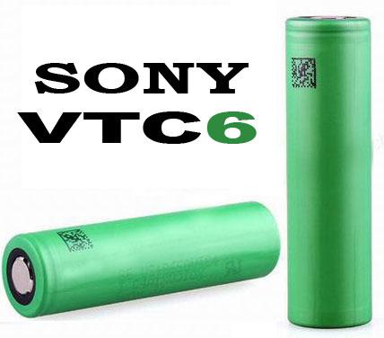 SONY / Murata US18650 VTC6 3120 mAh 30A (80A) - высокотоковый Li-ion промышленный