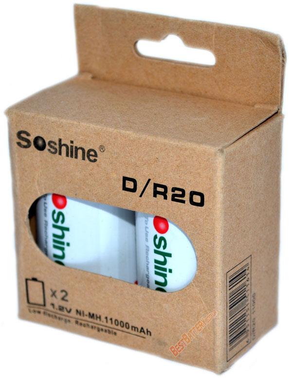 Аккумуляторы Soshine C RTU 11000.
