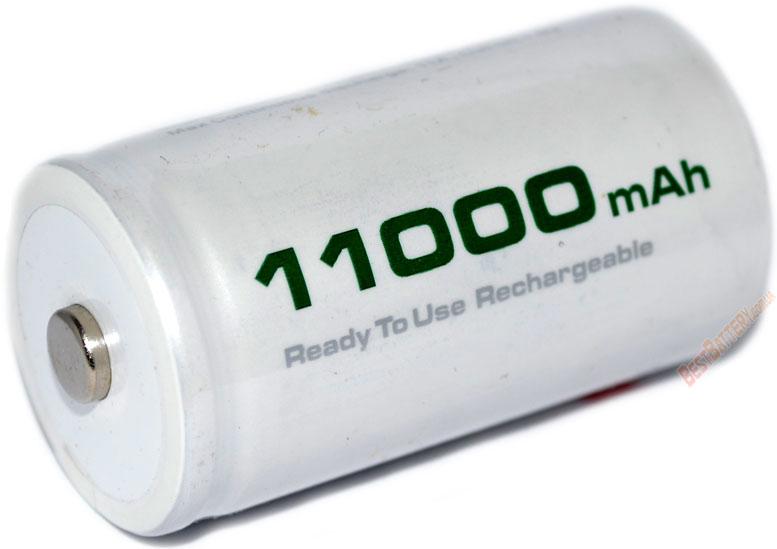Аккумуляторы Soshine RTU D (R20) 11000 mAh.