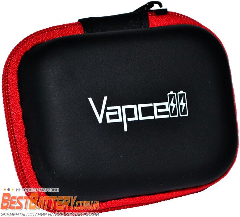 Бокс (кейс, футляр) для Vapcell INR 18650 K25 Red 20A 2500 mAh.