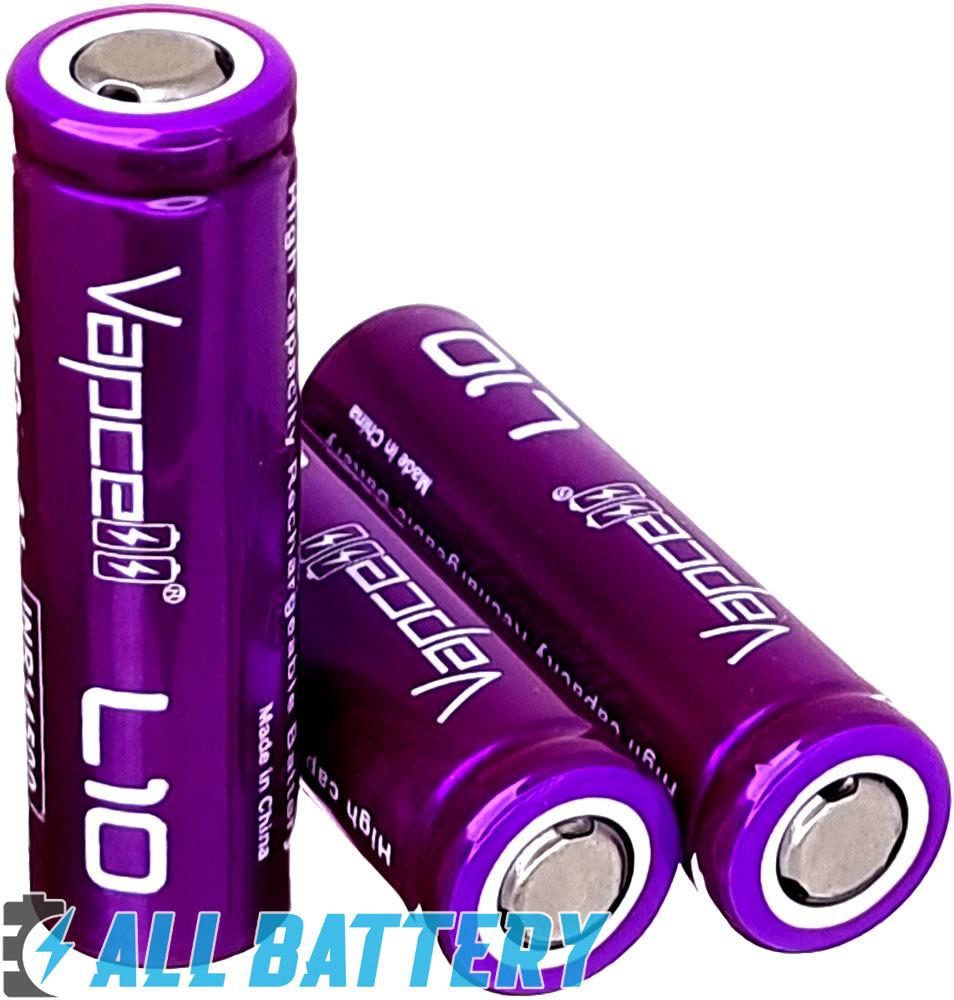 Аккумулятор 14500 (AA) Vapcell L10 1050 mAh 3.7V Li-Ion, без защиты.