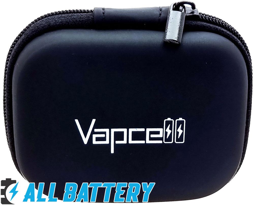 Li-Ion аккумуляторы 18650 Vapcell G30 Green 15А (35А) пластиковый кейс для хранения.
