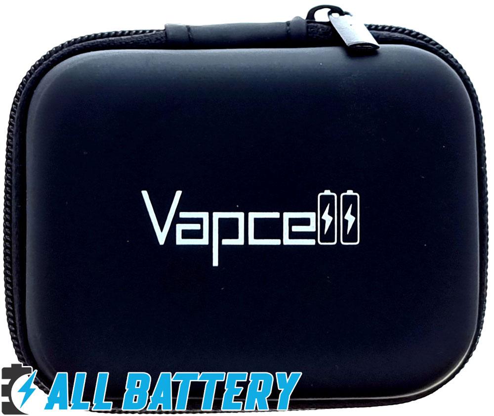 Аккумуляторы Vapcell P30 3000 mAh фирменный холдер для хранения.