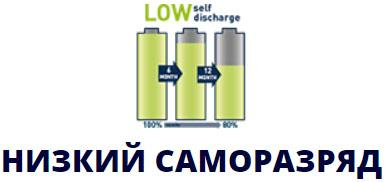 Varta Recharge Accu Power 2600 mAh AA низкий саморазряд.