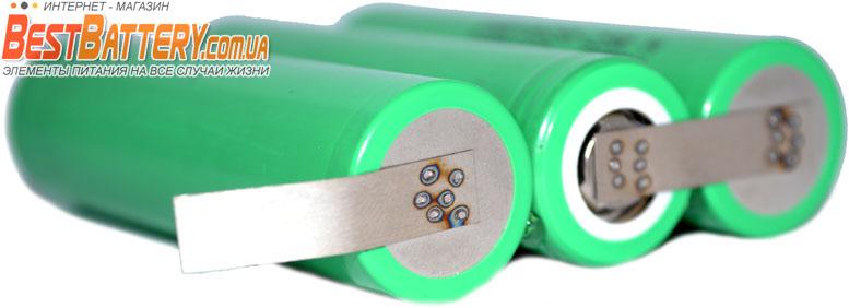 Аккумуляторная сборка 18650 Li-Ion для шуруповерта на 12В.