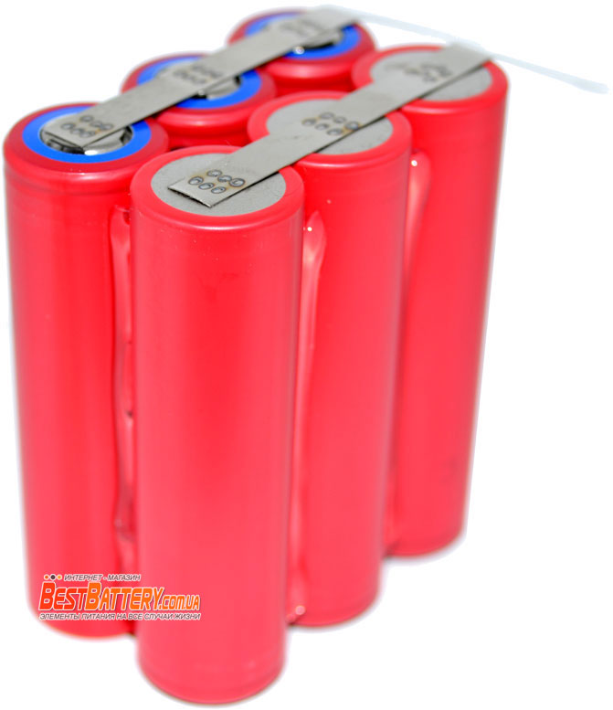 Аккумуляторная сборка 10500 mAh на аккумуляторах Sanyo UR18650GA 3500mAh 10A.
