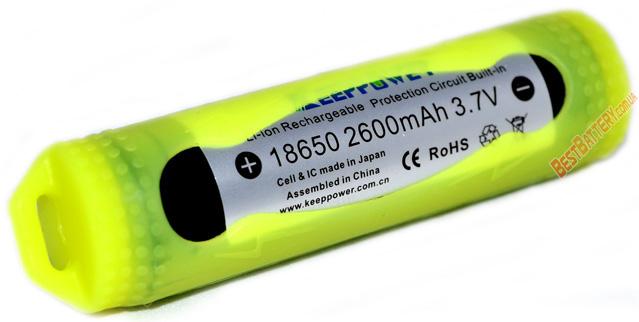 Силиконовый чехол для Li-ion аккумуляторов 18650