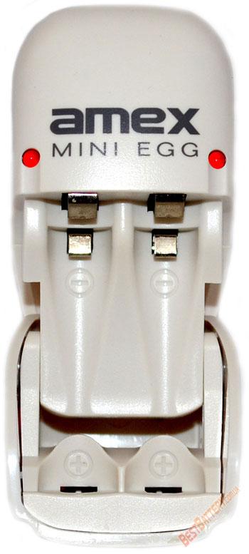 Mini Egg - зарядное устройство для АА и ААА аккумуляторов.