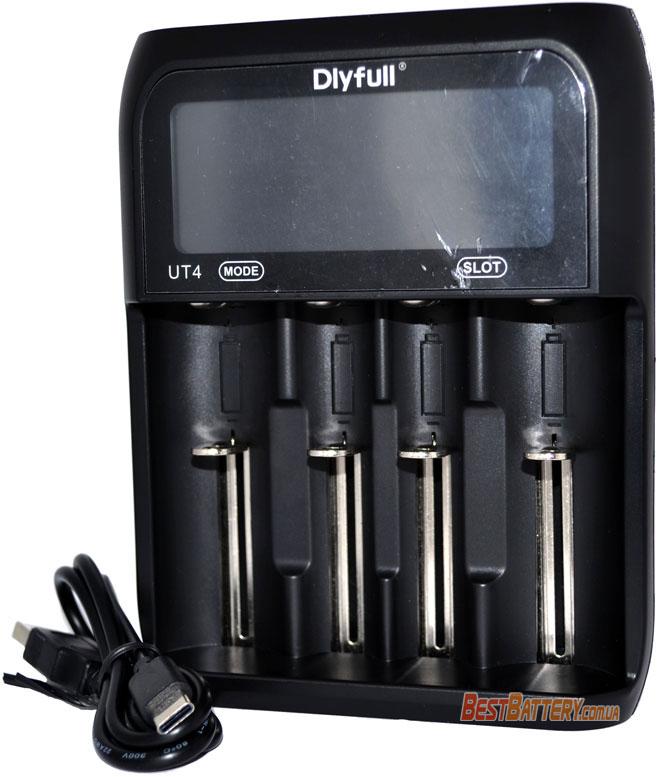 DLY Full UT4 - универсальное зарядное устройство на 4 аккумулятора.