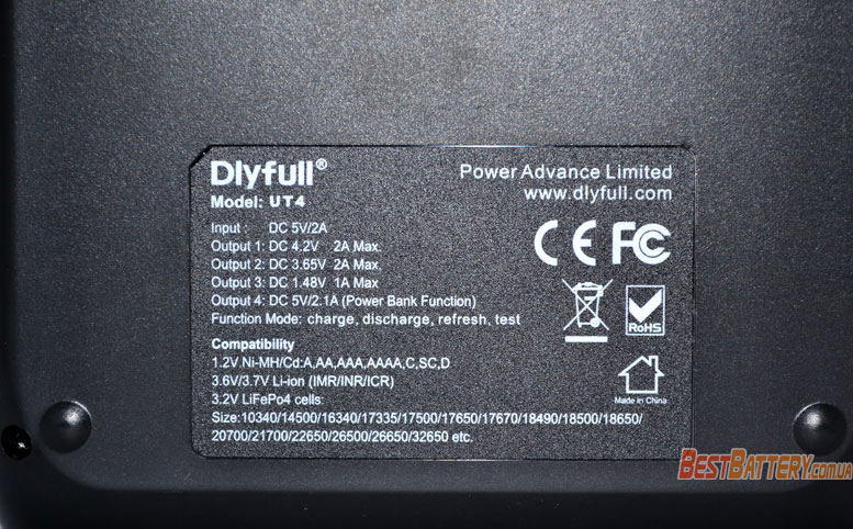 Техническая характеристика Dly Full UT4.