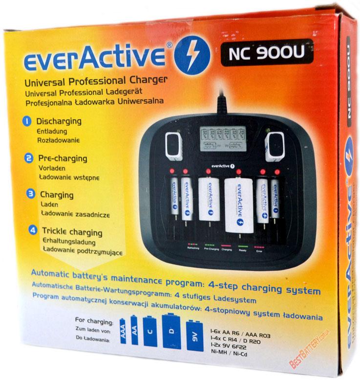 Комплект поставки EverActive NC 900U - коробка.