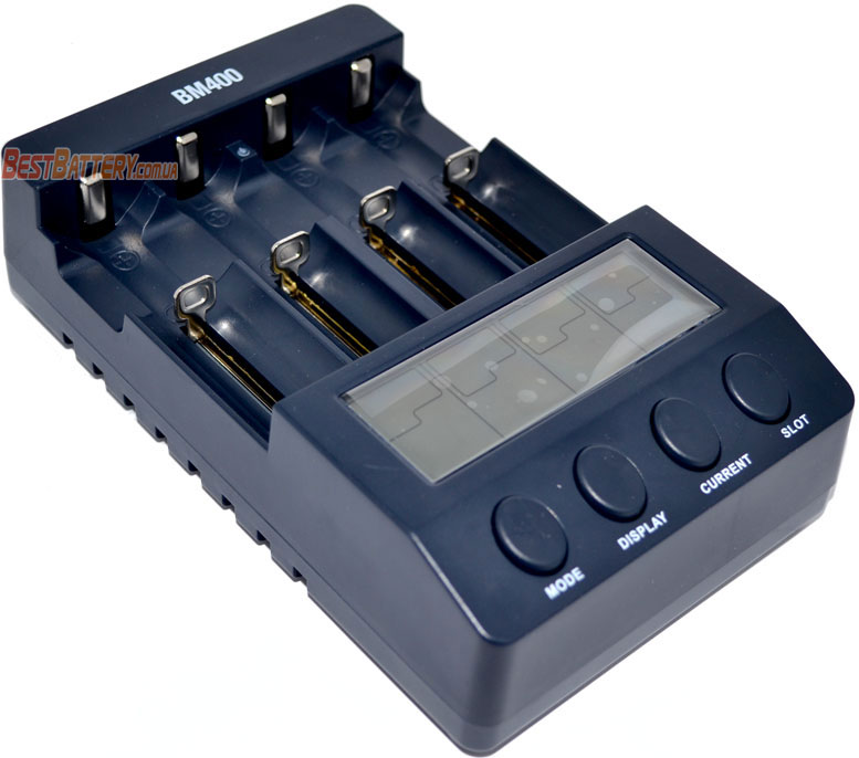 Extradigital BM-400 - профессиональное интеллектуальное зарядное устройство для Ni-Mh/Ni-Cd/Li-Ion аккумуляторов.
