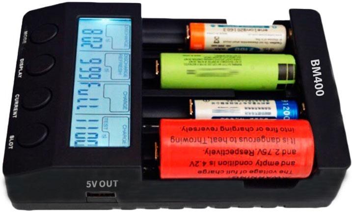 Универсальность зарядного устройства Extradigital BM 400.